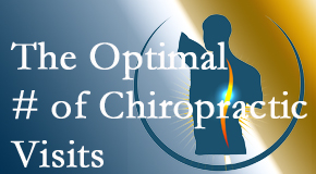 It's up to you and your pain as to how often you see the West Des Moines chiropractor.