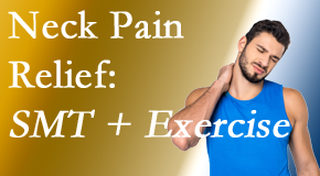 Executive Chiropractic of Iowa offers a pain-relieving treatment plan for neck pain that combines exercise and spinal manipulation with Cox Technic.