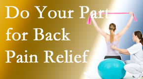 Executive Chiropractic of Iowa invites back pain sufferers to participate in their own back pain relief recovery.
