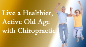 Executive Chiropractic of Iowa welcomes older patients to incorporate chiropractic into their healthcare plan for pain relief and life's fun.