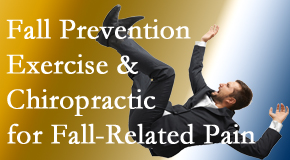 Executive Chiropractic of Iowa shares new research on fall prevention strategies and protocols for fall-related pain relief.