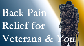 Executive Chiropractic of Iowa cares for veterans with back pain and PTSD and stress.