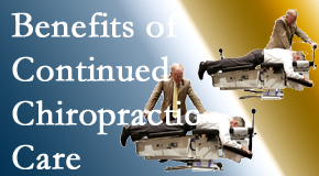 Executive Chiropractic of Iowa offers continued chiropractic care (aka maintenance care) as it is research-documented as effective.