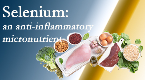 Executive Chiropractic of Iowa shares details about the micronutrient, selenium, and the detrimental effects of its deficiency like inflammation.