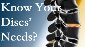 Your West Des Moines chiropractor knows all about spinal discs and what they need nutritionally. Do you?