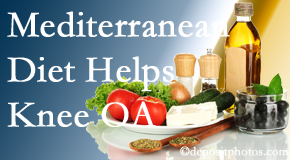 Executive Chiropractic of Iowa shares recent research about how good a Mediterranean Diet is for knee osteoarthritis as well as quality of life improvement.