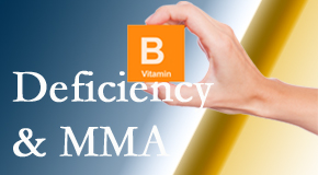 Executive Chiropractic of Iowa knows B vitamin deficiencies and MMA levels may affect the brain and nervous system functions.