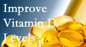 Executive Chiropractic of Iowa explains that it's beneficial to raise vitamin D levels.