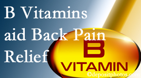 Executive Chiropractic of Iowa may include B vitamins in the West Des Moines chiropractic treatment plan of back pain sufferers.