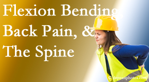 Executive Chiropractic of Iowa helps workers with their low back pain due to forward bending, lifting and twisting.