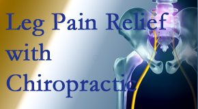 Executive Chiropractic of Iowa delivers relief for sciatic leg pain at its spinal source.