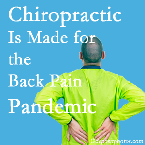 West Des Moines chiropractic care at Executive Chiropractic of Iowa is well-equipped for the pandemic of low back pain.