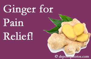 West Des Moines chronic pain and osteoarthritis pain patients will want to check out ginger for its many varied benefits not least of which is pain reduction.