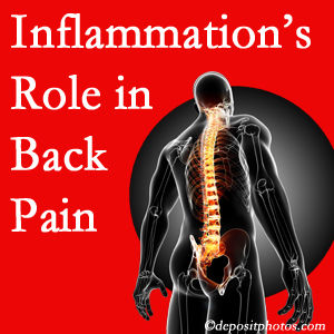 The role of inflammation in West Des Moines back pain is real. Chiropractic care can help.