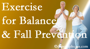 West Des Moines chiropractic care of balance for fall prevention involves stabilizing and proprioceptive exercise.