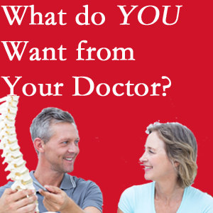 West Des Moines chiropractic at Executive Chiropractic of Iowa includes examination, diagnosis, treatment, and listening!
