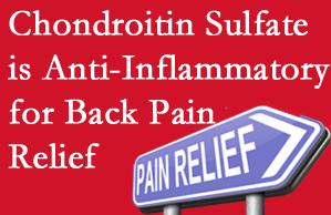 West Des Moines chiropractic treatment plan at Executive Chiropractic of Iowa may well include chondroitin sulfate!
