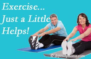 Executive Chiropractic of Iowa encourages exercise for improved physical health as well as reduced cervical and lumbar pain.