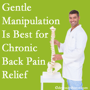 Gentle West Des Moines chiropractic treatment of chronic low back pain is best.