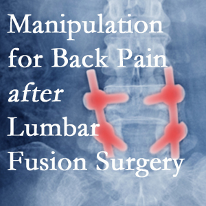 West Des Moines chiropractic spinal manipulation helps post-surgical continued back pain patients discover relief of their pain despite fusion.
