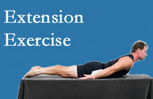Executive Chiropractic of Iowa recommends extensor strengthening exercises when back pain patients are ready for them.
