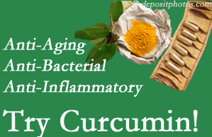 Pain-relieving curcumin may be a good addition to the West Des Moines chiropractic treatment plan.