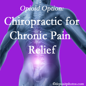 Instead of opioids, West Des Moines chiropractic is beneficial for chronic pain management and relief.