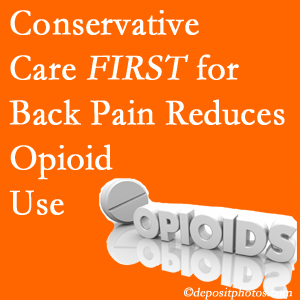 Executive Chiropractic of Iowa delivers chiropractic treatment as an option to opioids for back pain relief.