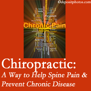 Executive Chiropractic of Iowa helps relieve musculoskeletal pain which helps prevent chronic disease.